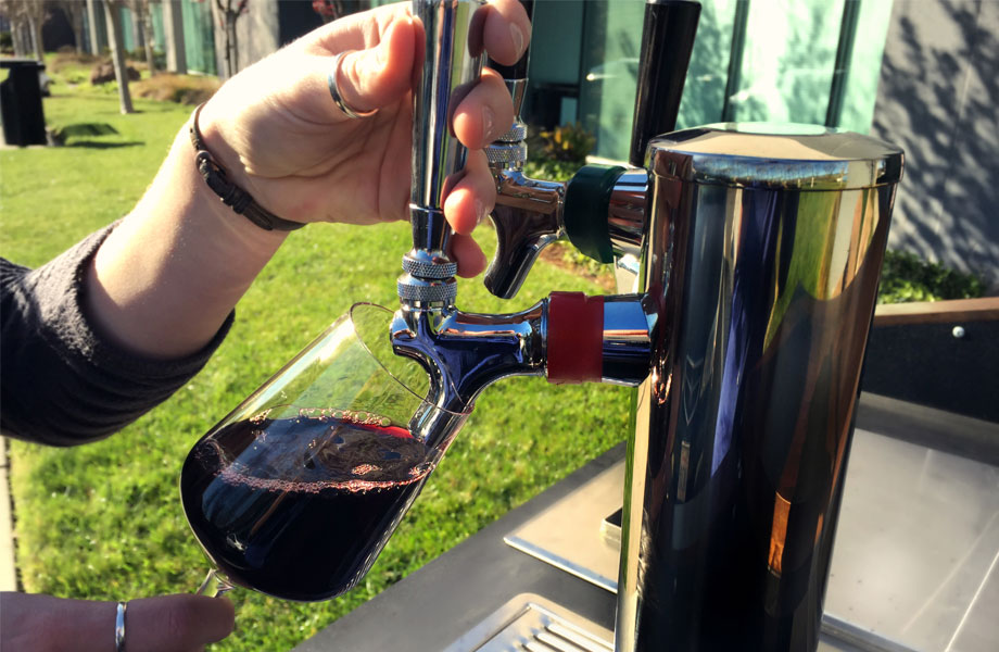 Mobile Dispense Options Wine on tap